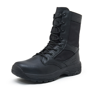 Summer breathable military hiking boots