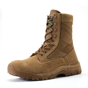 Coyote color military boots 33991