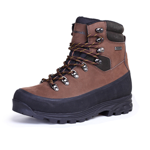 Brown nubuck waterproof mountain walking boots 13327