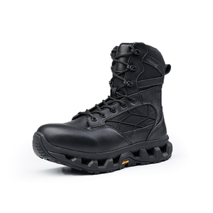 OEM military leather tactical boots for men