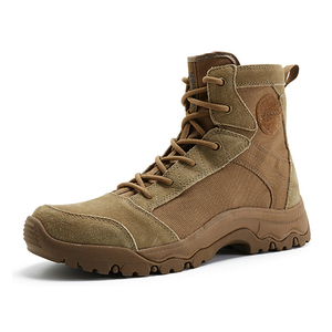 Coyote color military boots 35020