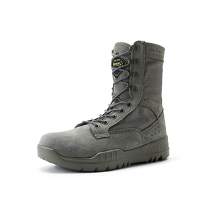 Navy color military boots 33898
