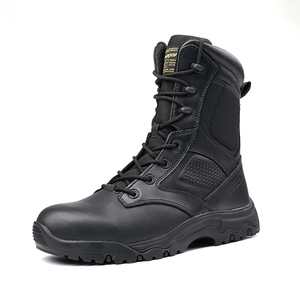 Mens military style boots