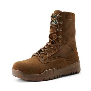 Coyote color military boots