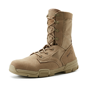 Breathable light weight military hiking desert boots