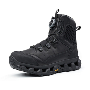 BOA full grain leather vibram outsole boots military
