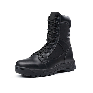 8 inches air force leather boots